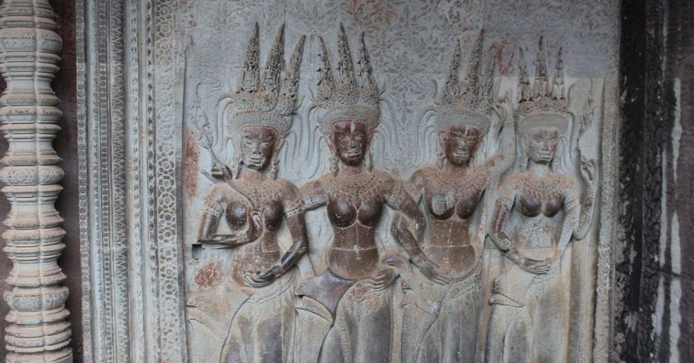 Wall Carvings at Angkor Wat