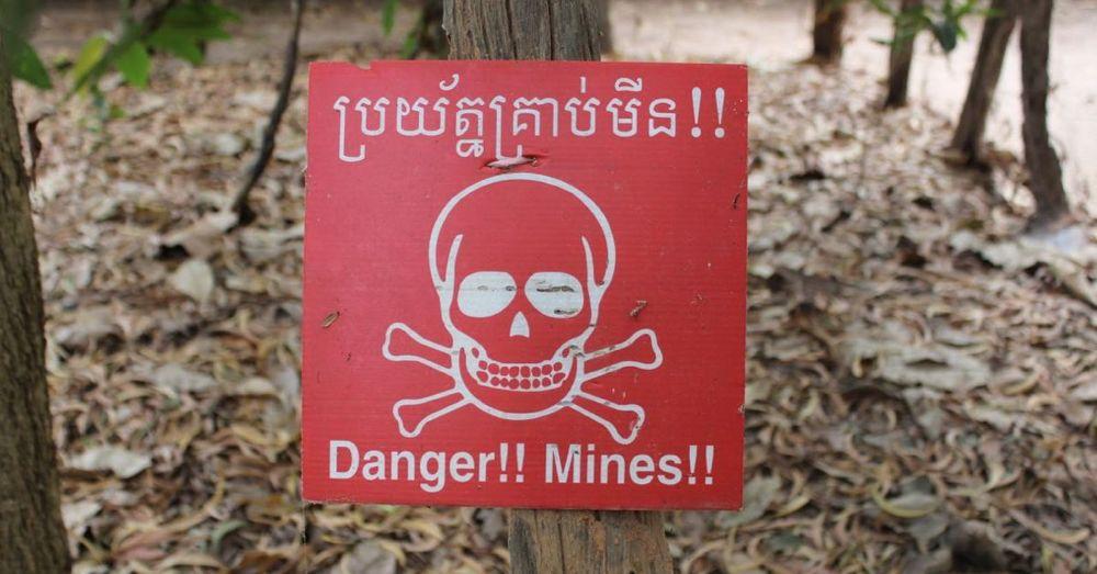 Danger!! Mines!!