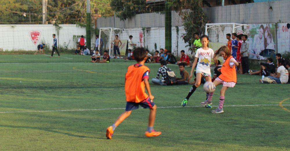 Jackie: Soccer in Siem Reap