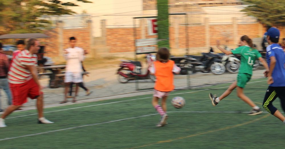 Frankie: Soccer in Siem Reap