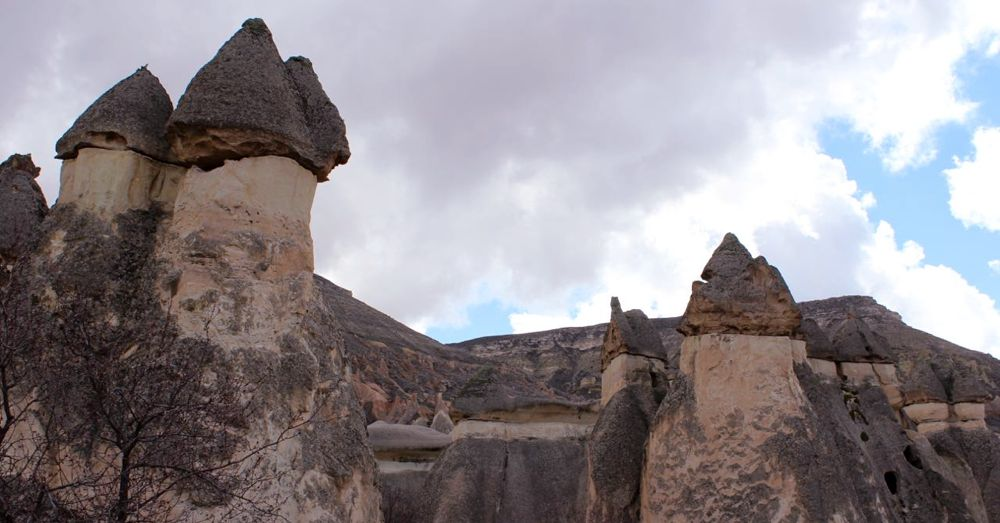 Fairy chimneys of Pashabag.