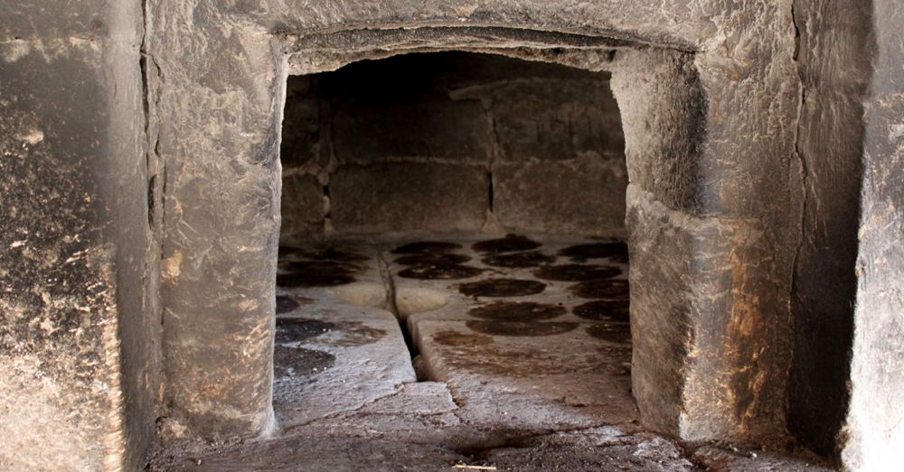 Village bread oven.