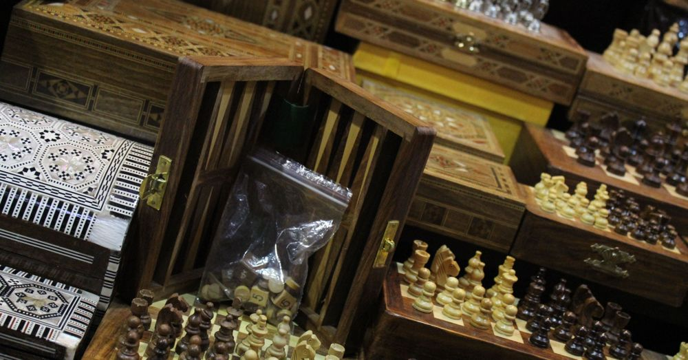 Chess & Backgammon dealer, Grand Bazaar.