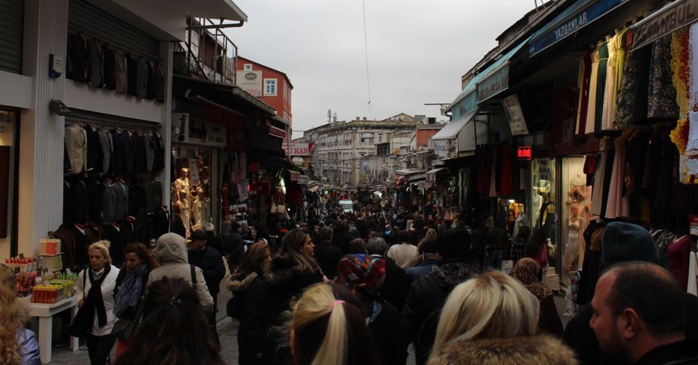 A street outside the Grand Bazaar.