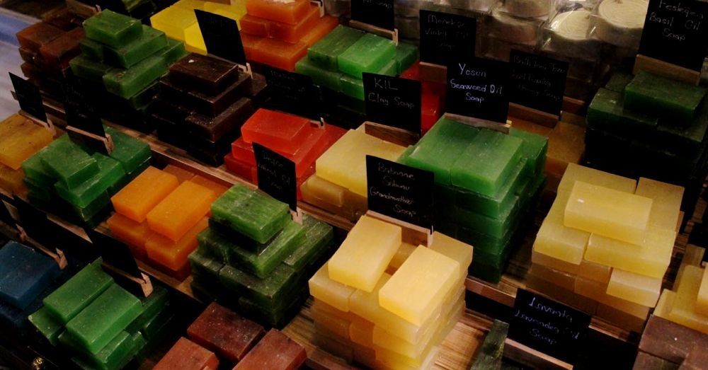 Soaps at the Egyptian Market.