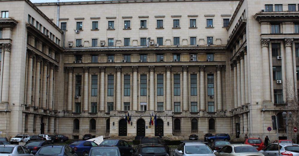 Nicolae Ceaușescu gave is final speech here.