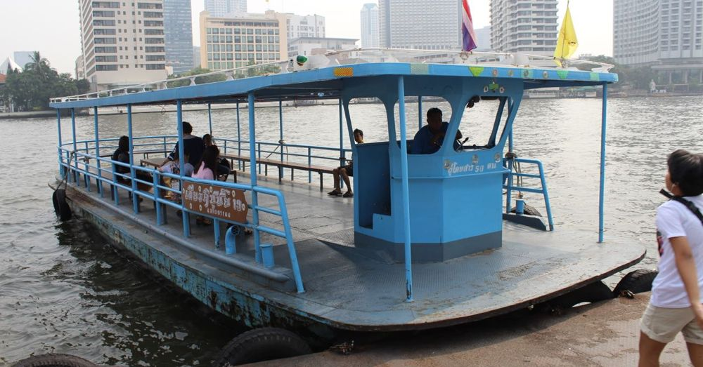 Shuttle across the Chao Phraya