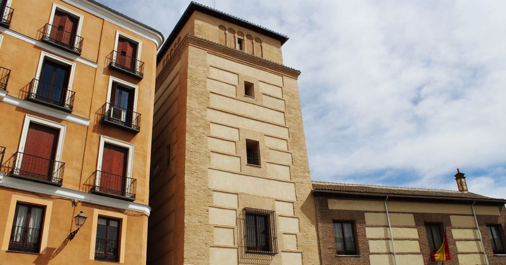 Casa y Torre de los Lejunes—some say it's the oldest building in Madrid.