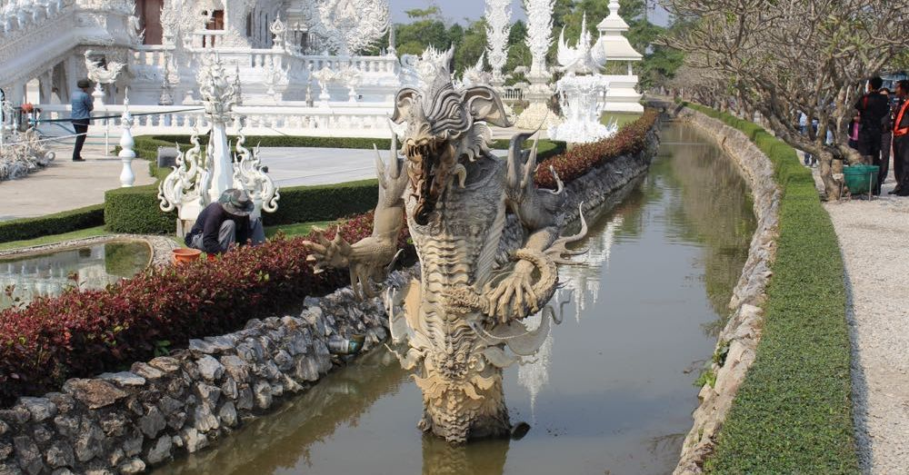 River Monster, White Temple
