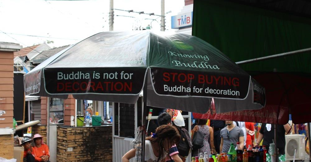 Buddha is not decoration