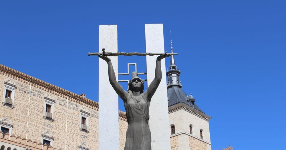 Monument to the Siege of Alcázar.