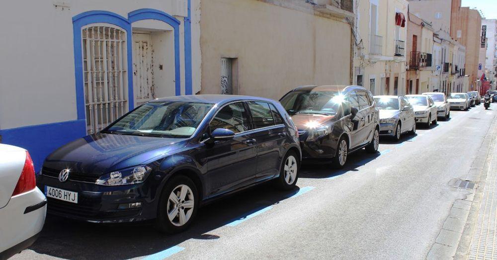 Parking spot.