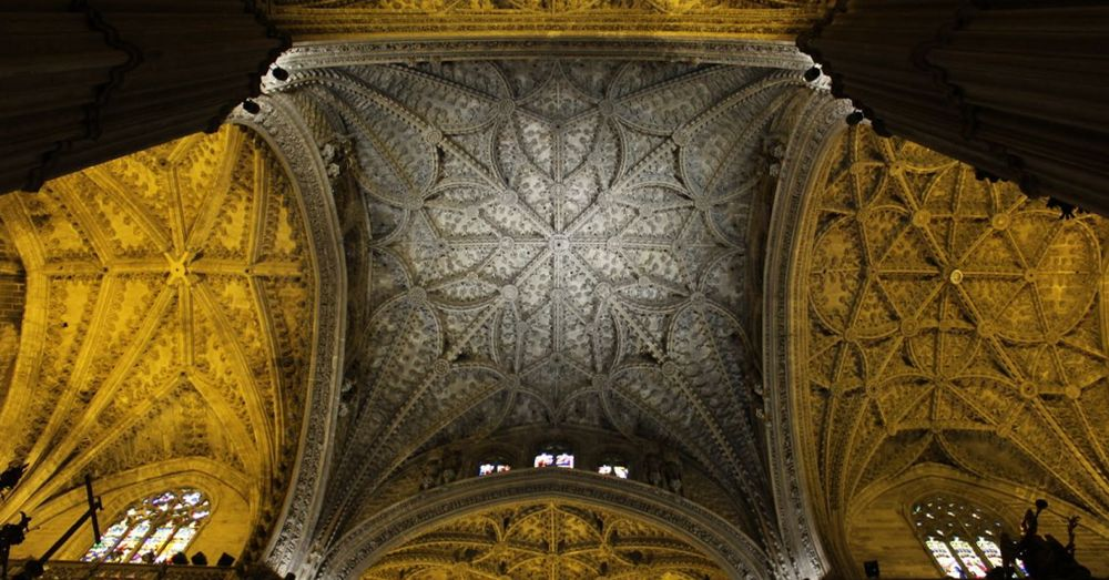 Seville Cathedral dome.