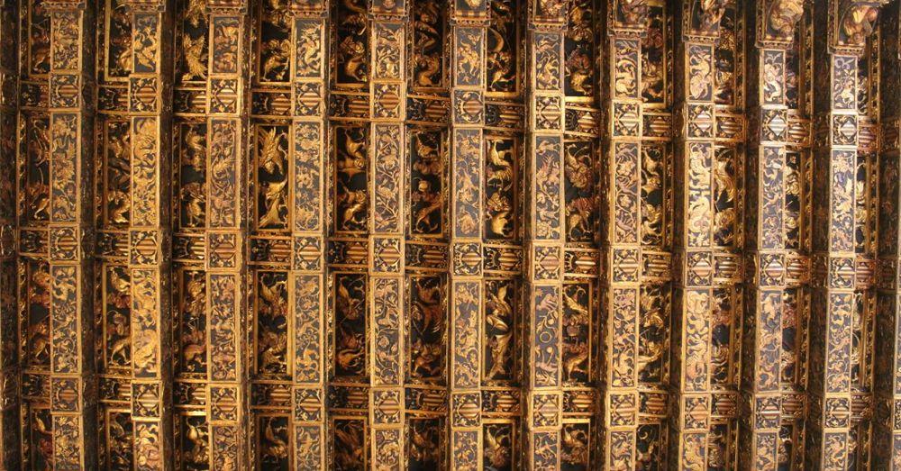 Golden Chamber ceiling.