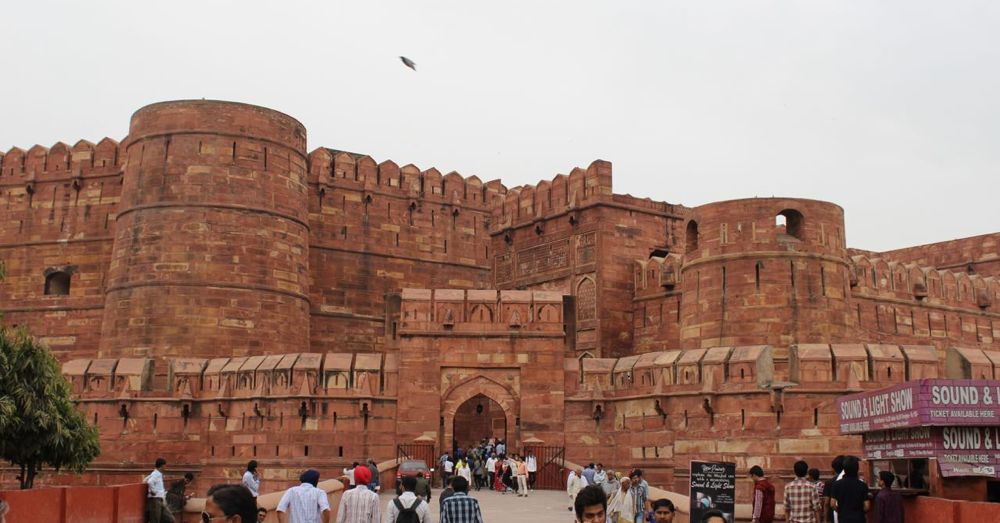 Amar Singh Gate, Agra Fort Entry Gate