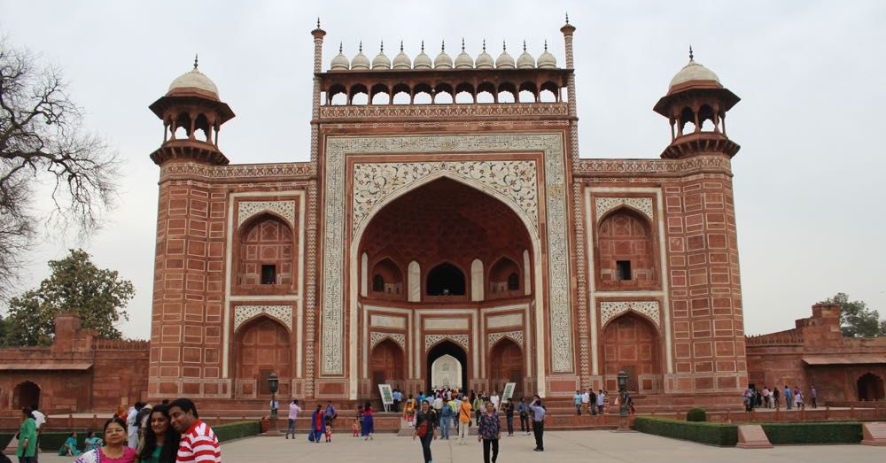 Great Gate to the Taj Mahal (Darawza)