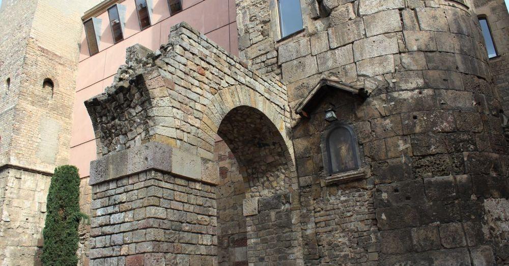 Remains of a Roman Aqueduct