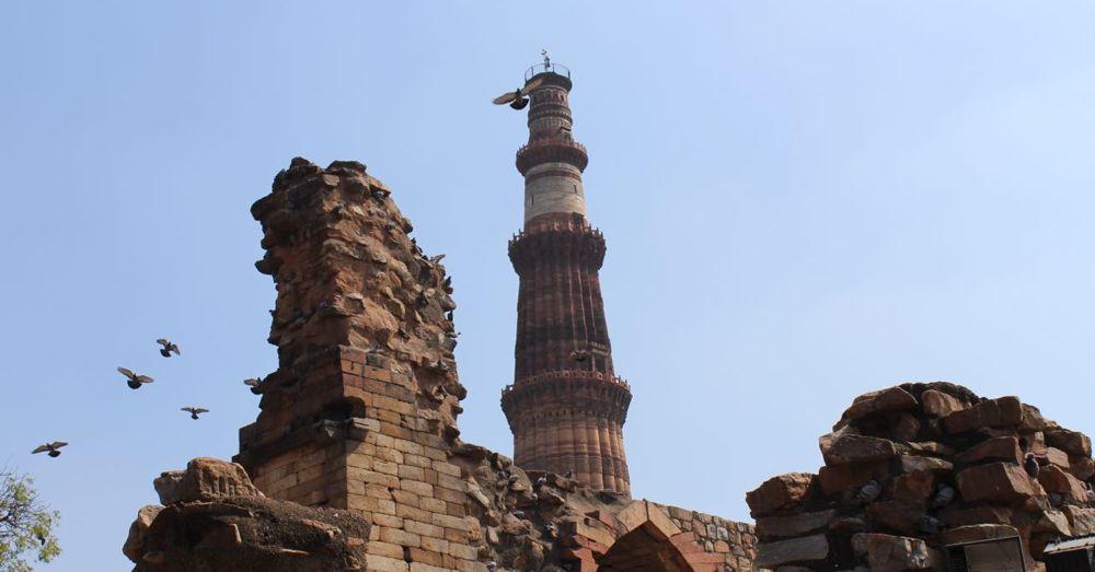 World's talles brick minaret.