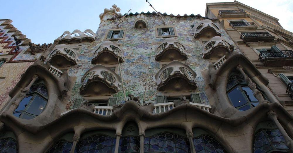 Casa Battló facade.