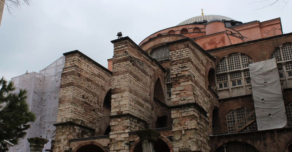 Hagia Sofia: Outside