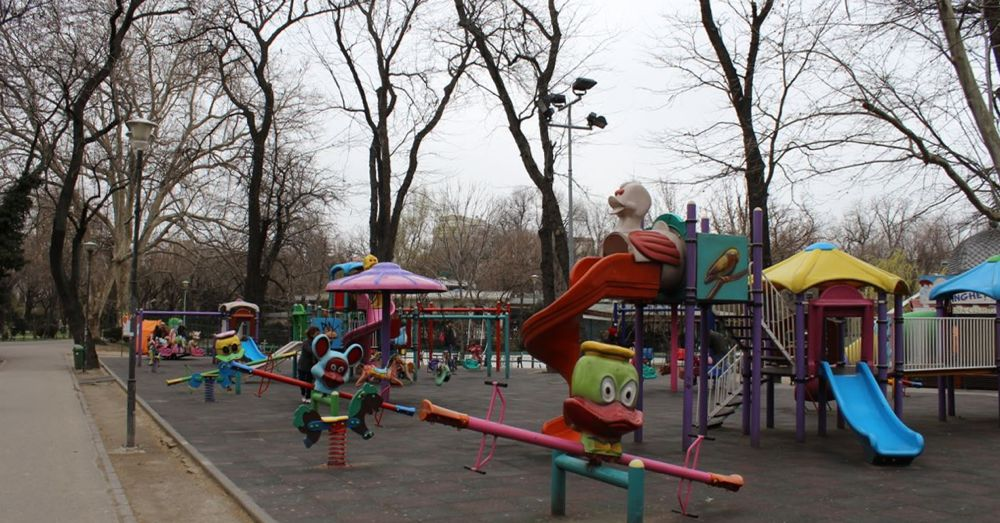 Playground in Cișmigiu Park