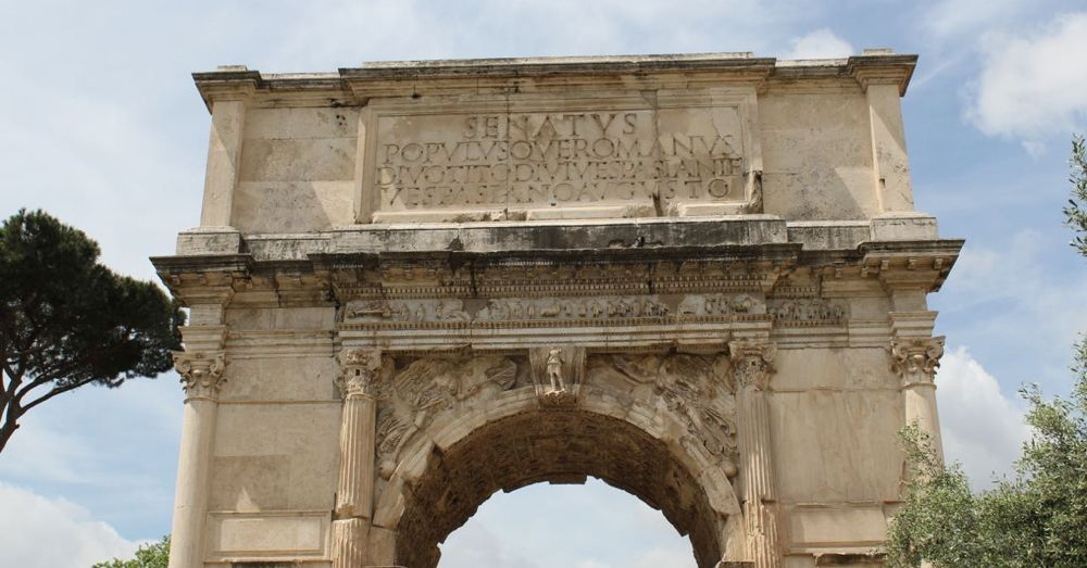 The Arch of Titus.