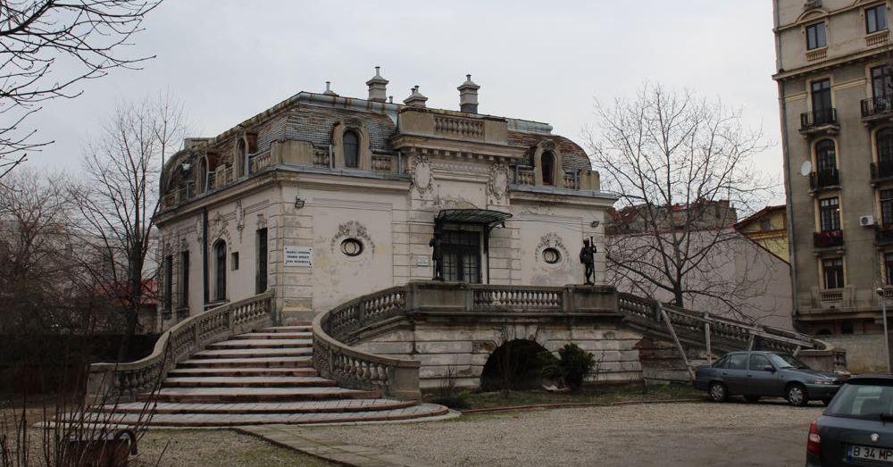 Behind Cantacuzino Palace