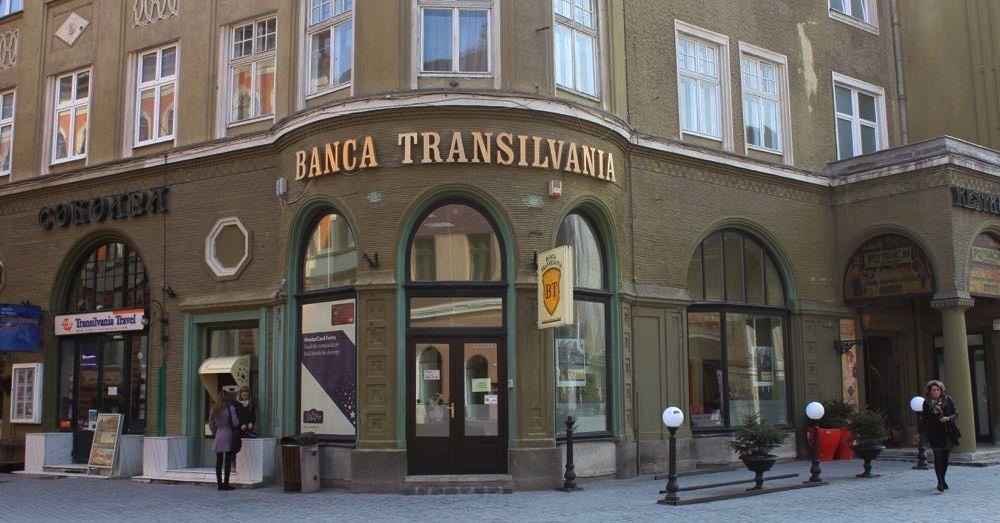 I love Banca Transilvania