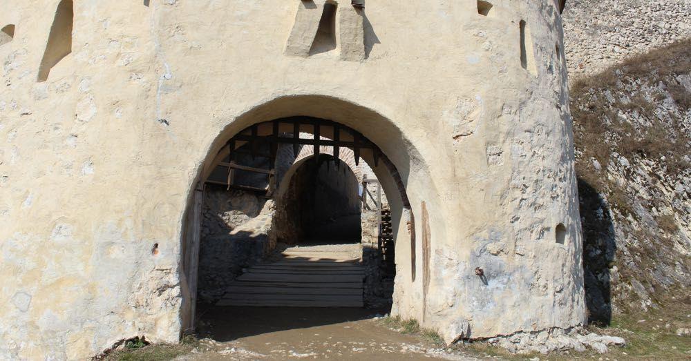 Rasnov Citadel Open Gate