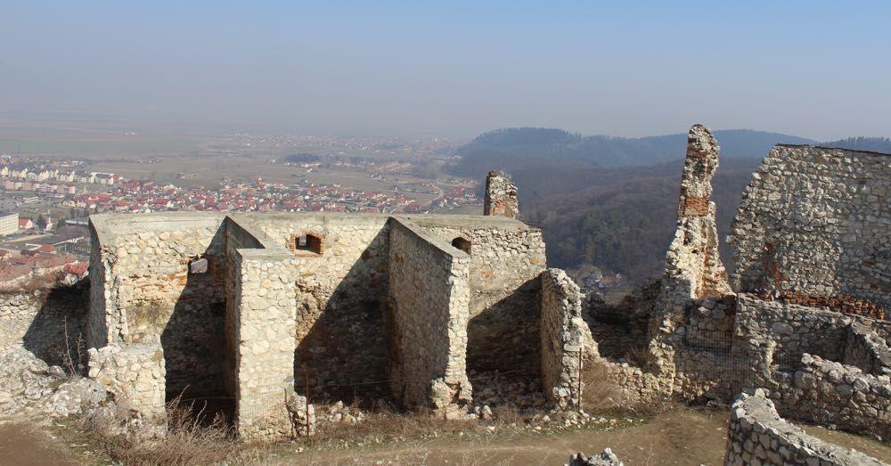 Former Homes, Rasnov Citadel