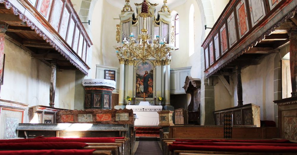 Inside the White Church