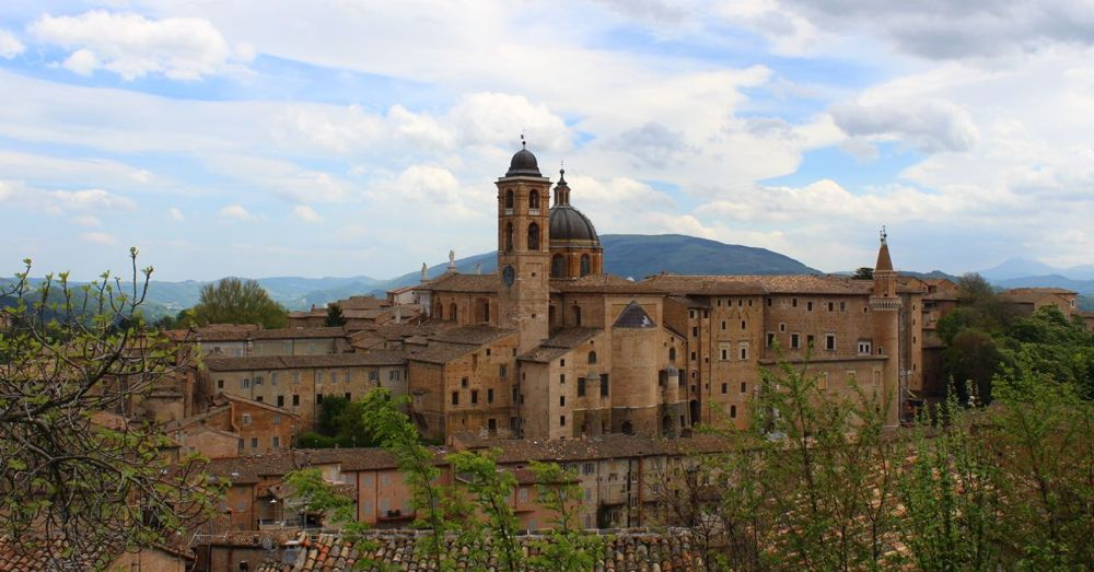Ducal Palace at Urbino.
