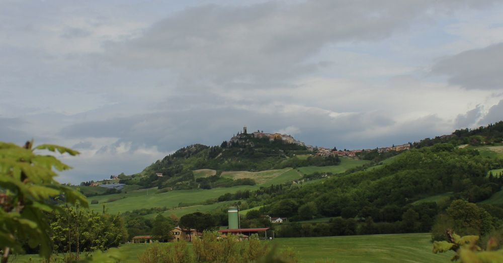 Urbino in the distance.
