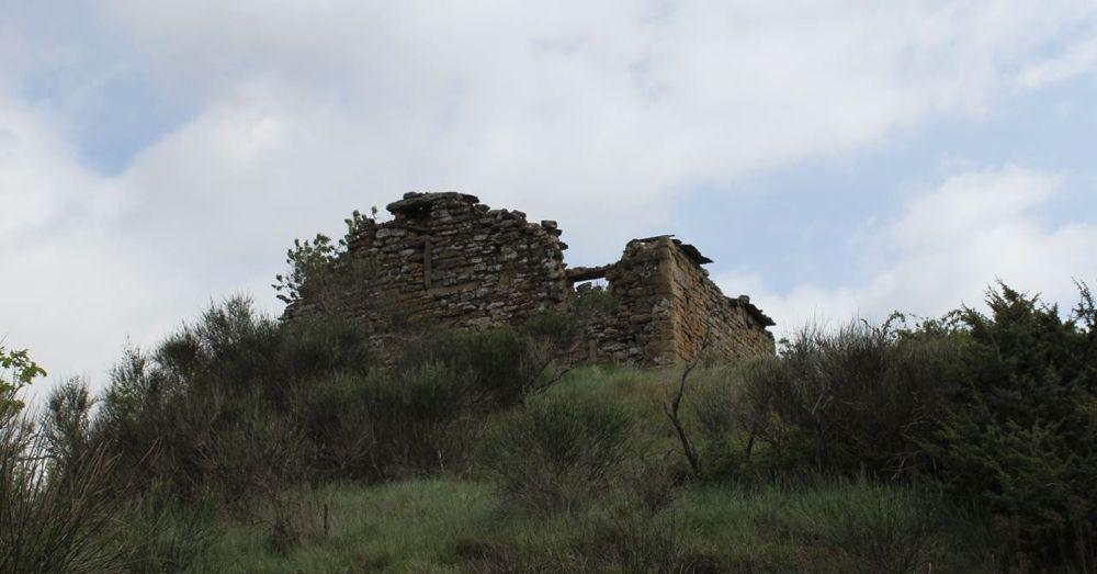 Hilltop ruins.