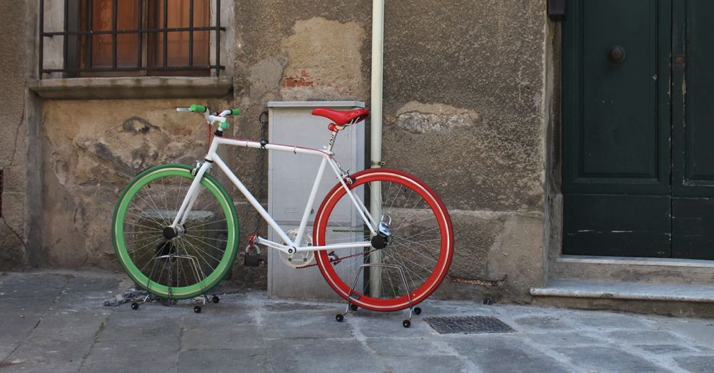 Italian bike.