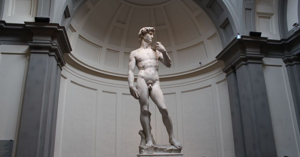 The full David.
