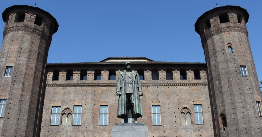 Palazzo Madama, rear side