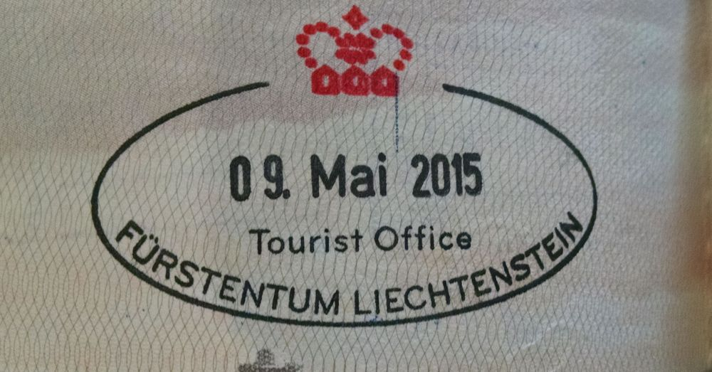Liechtenstein Passport Stamp