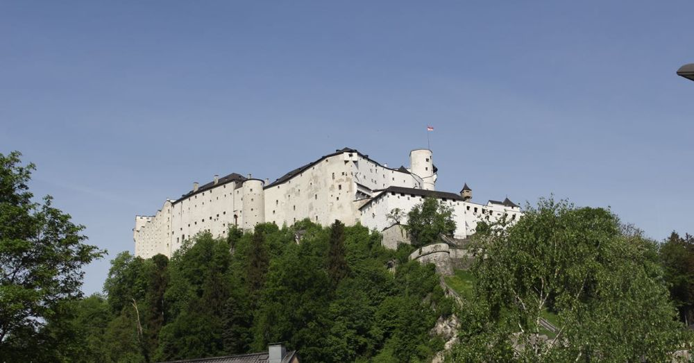 Hohensalzburg Castle. Not from the  Sound of Music , but it's a castle!