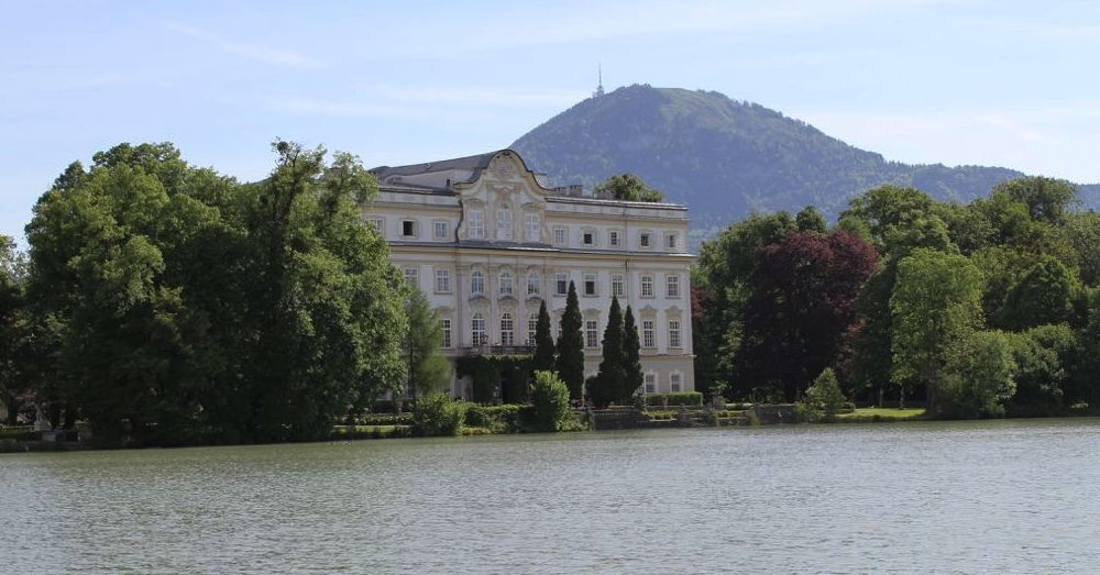 Schloss Leopoldskron, the  Sound of Music  lake house (exterior only)