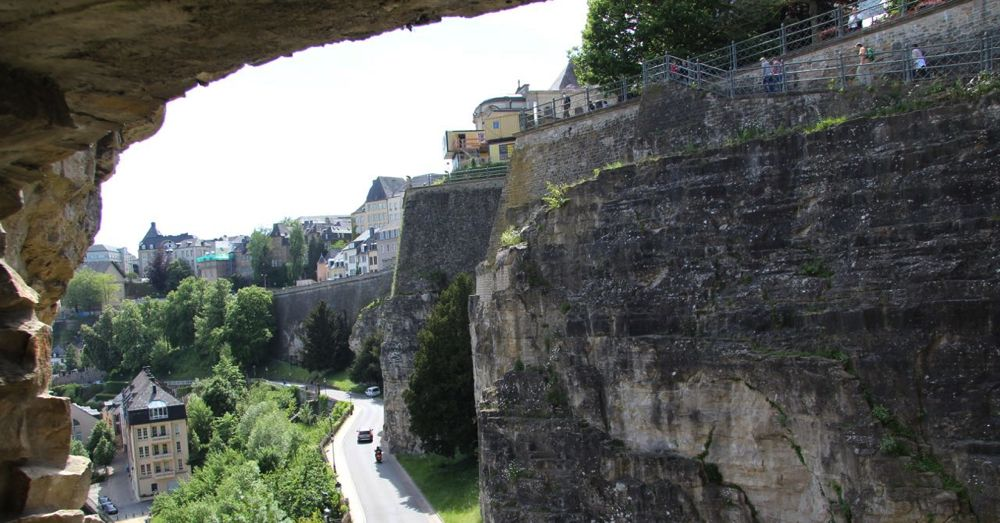 The view from the Bock Casemates