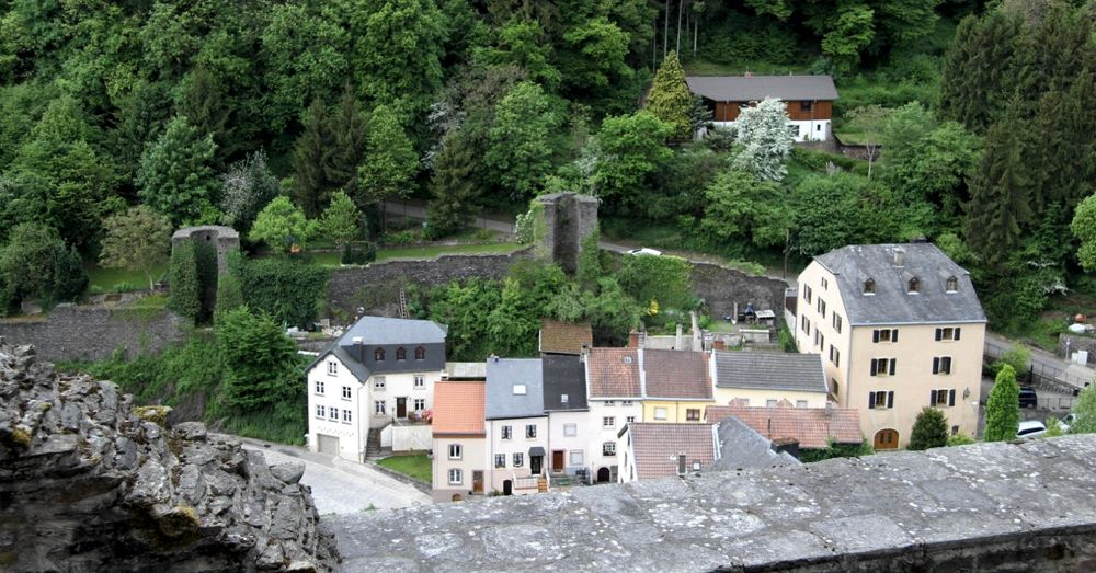 Looking our from Vianden Castle