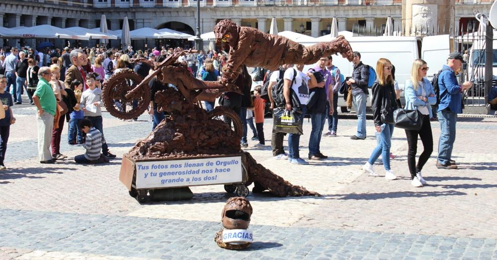 Street Performer, Plaza Mayor