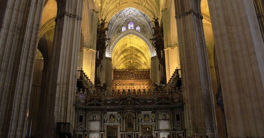 Seville Cathedral Choir Loft