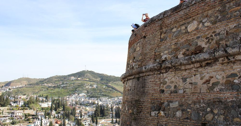 Tower overlooking Granada