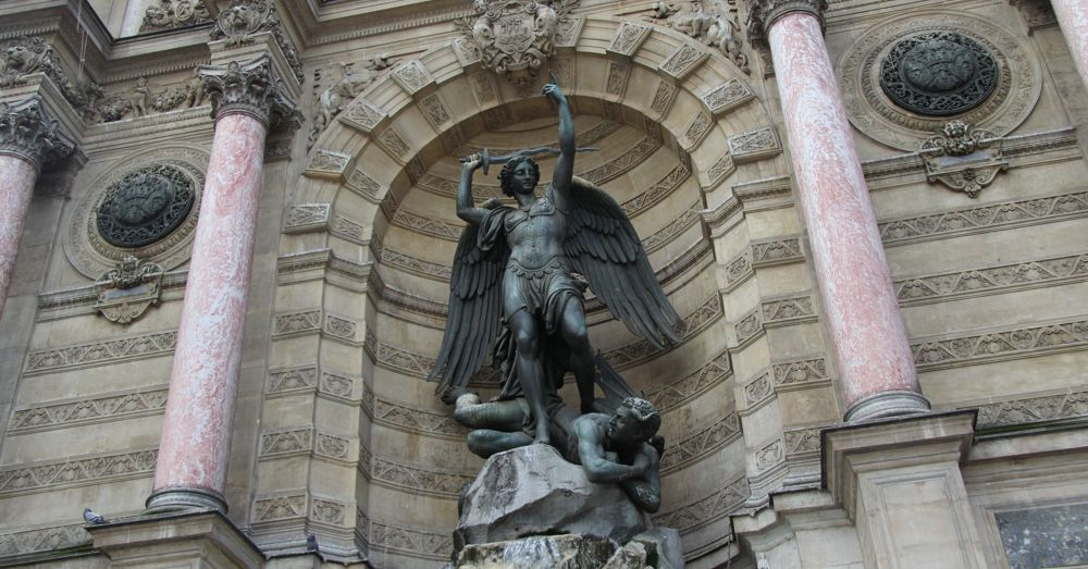 St. Michael at his Place in Paris
