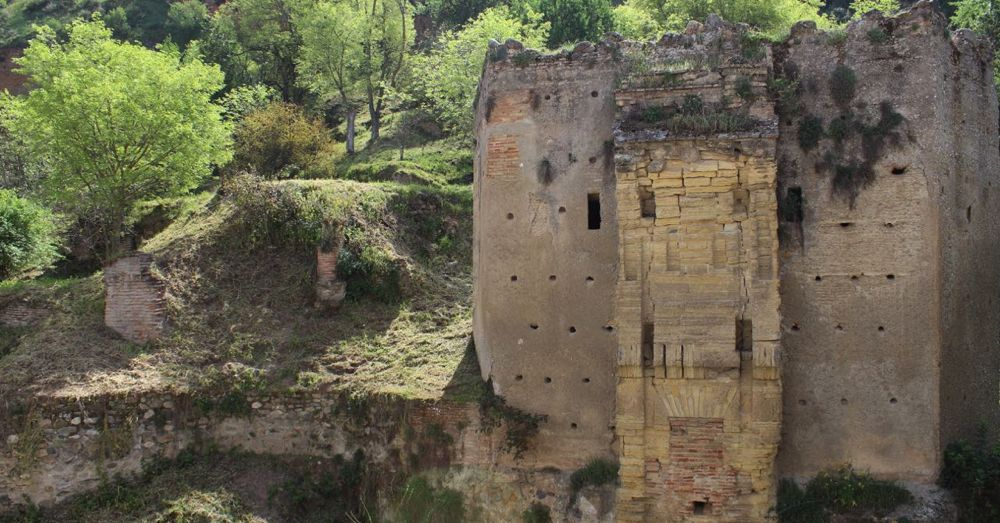 Crumbling Stone Walls