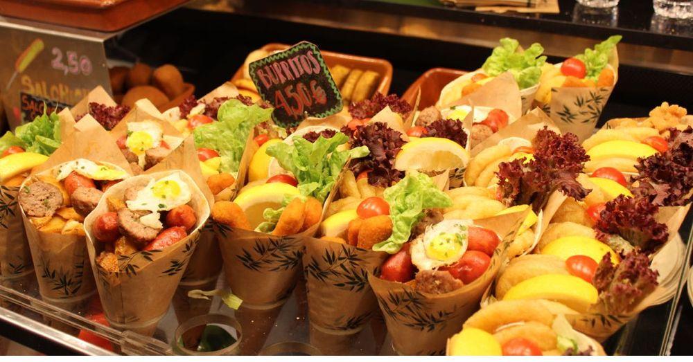 La Boqueria: Burritos!