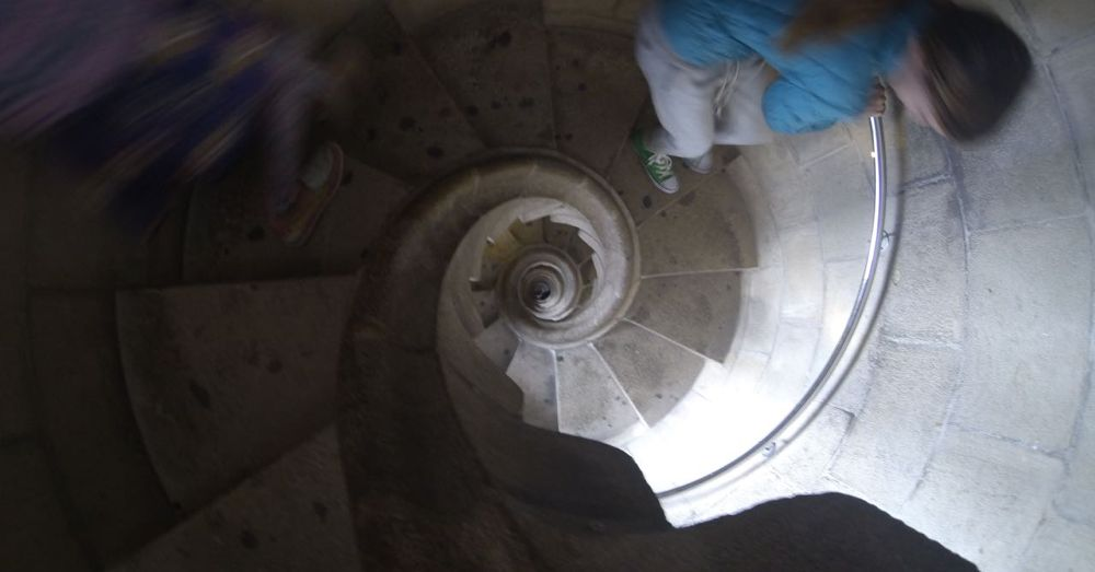 Sagrada Familia Tower Stairs