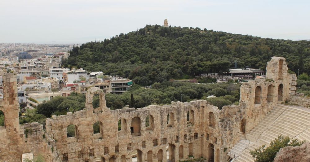 Odeon of Herodes Atticus (From Above)